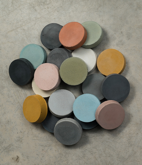 Elle + James Colour Swatch Samples