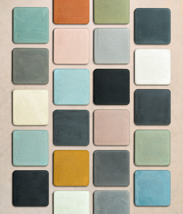 Elle + James Colour Swatch Samples