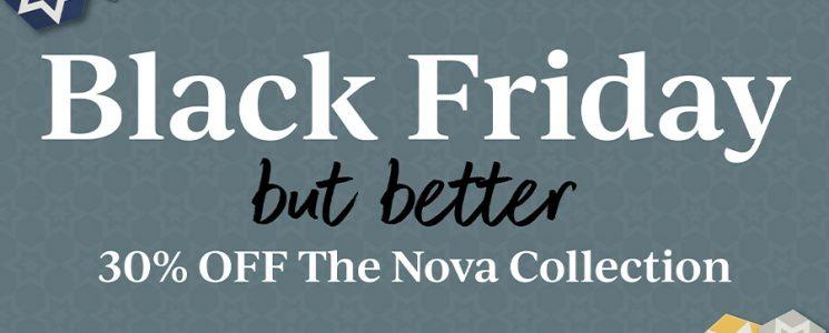 Black Friday Nova Sale Main Image