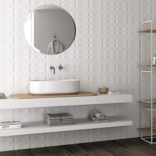Outlet – Delicate Wall Ceramic Crystal