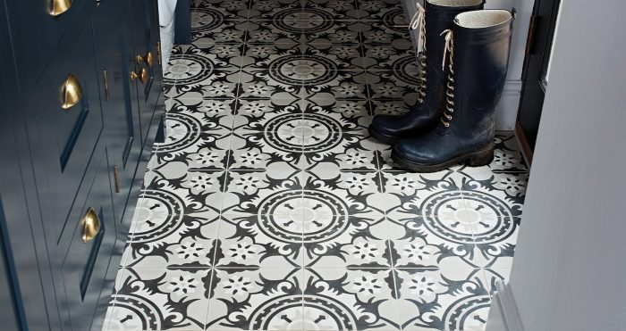 Moroccan-inspired Marrakech Encaustic tiles