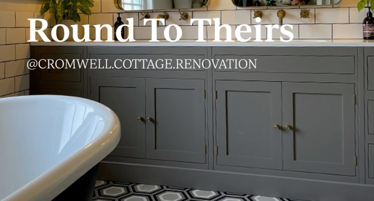 Round To Theirs: @cromwell.cottage.renovation