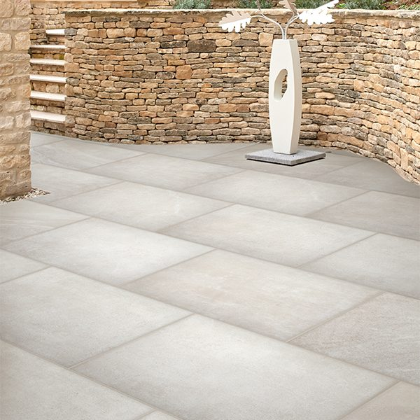 Blenheim Paving Porcelain White