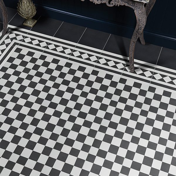 Outlet – Chequer Encaustic Pattern