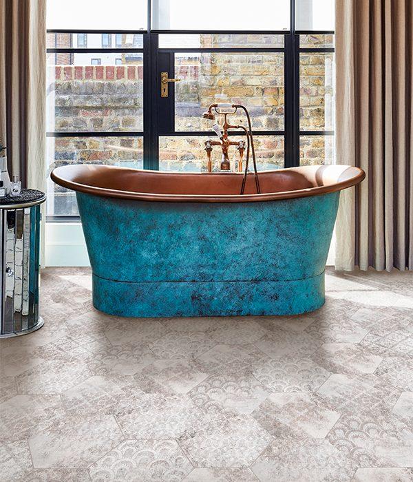 Architectural Elements Melange Porcelain Warm Grey