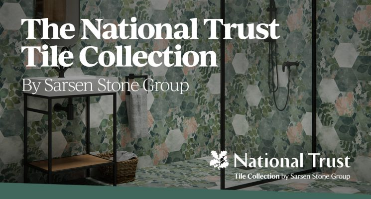 Introducing the National Trust Tile Collection by Sarsen Stone Group