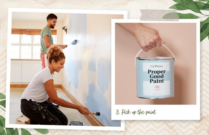 Pick up the paint