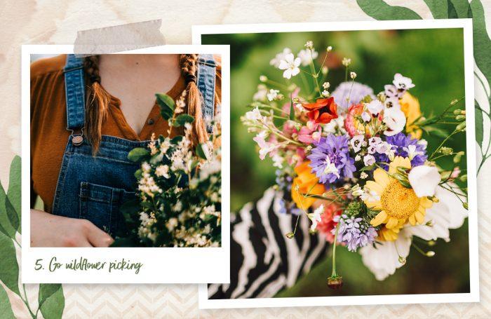 Go wildflower picking