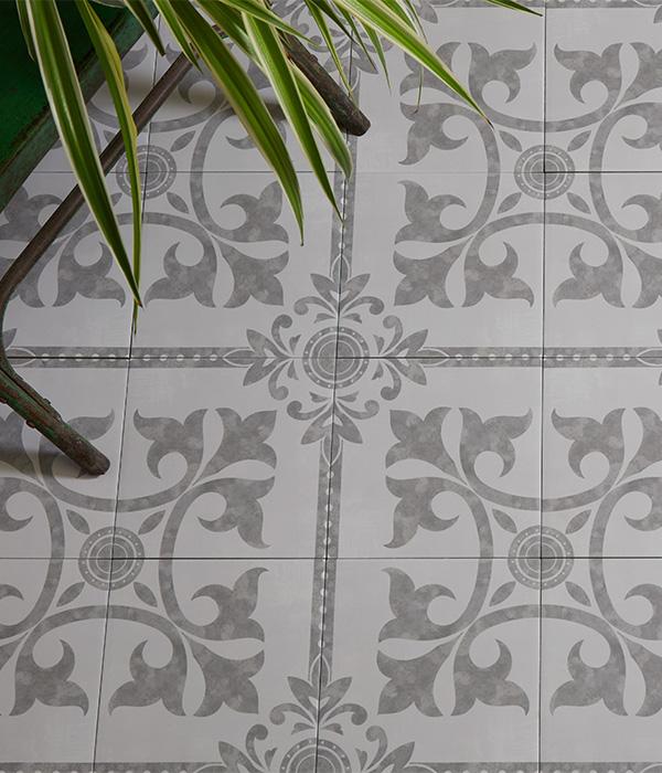 Architectural Elements Llanerchaeron Porcelain Dove Grey