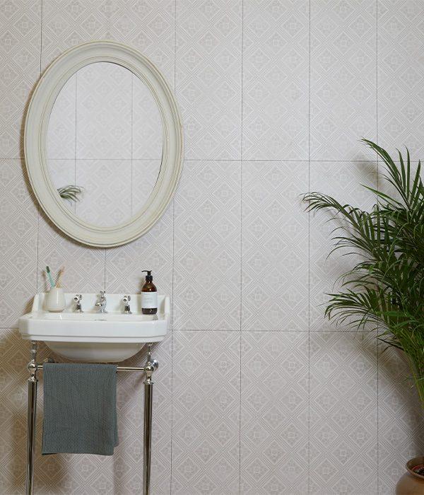 Architectural Elements Arlington Court Ceramic Warm Grey