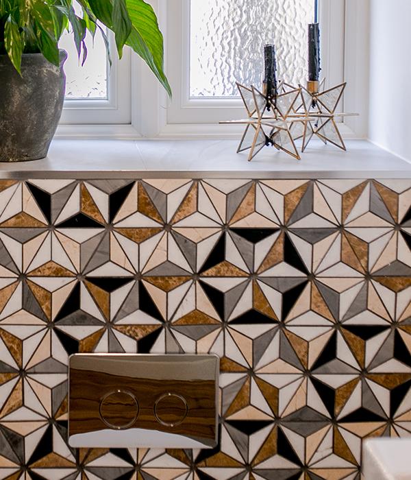 Istanbul Marble Mosaic – Simply Bathrooms Ltd Surrey