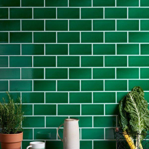 Lyme Ceramic Metro Emerald Green