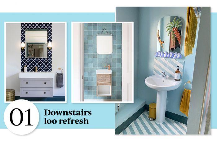 no.1 Downstairs Loo Refresh
