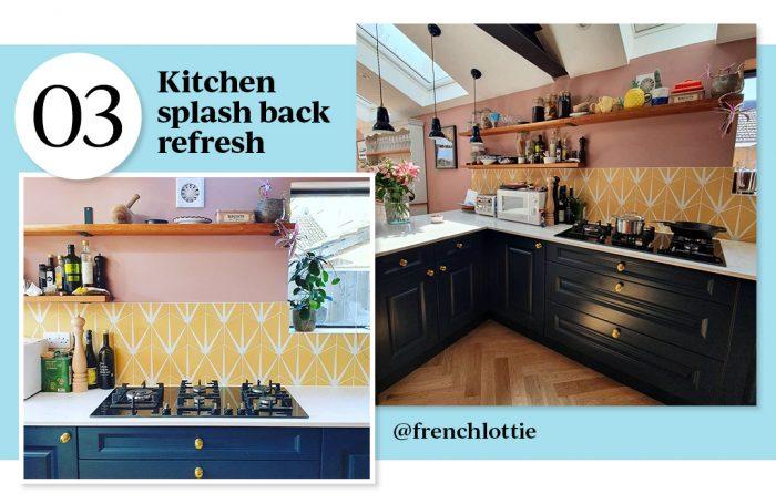 no.3 Kitchen Splashback refresh