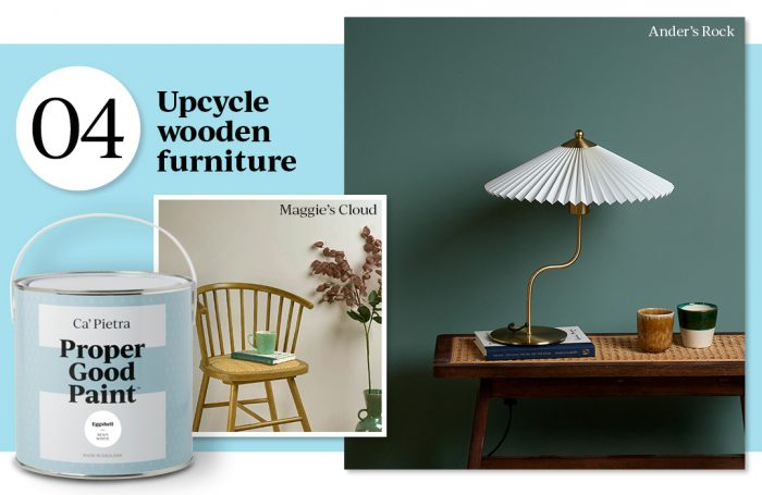 no.4 Upcycle wooden furniture