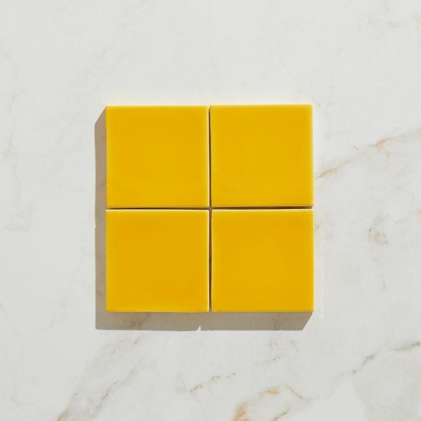 Colour Pop Ceramic Amarelo Square