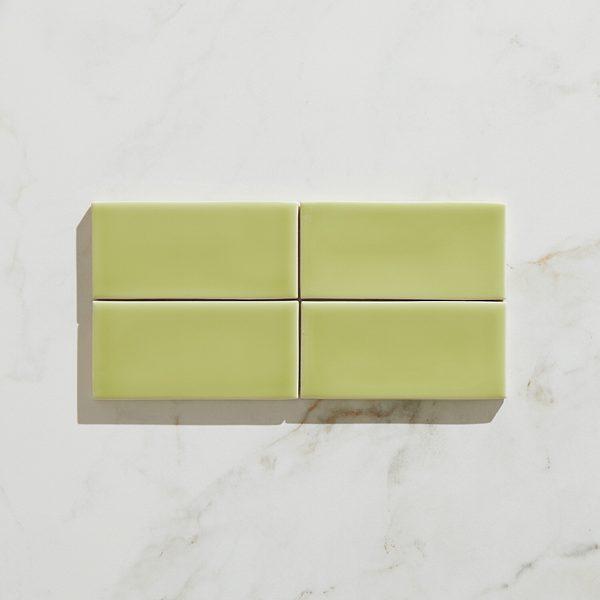Colour Pop Ceramic Kiwi Brick