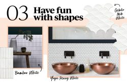 3. Have fun with shapes