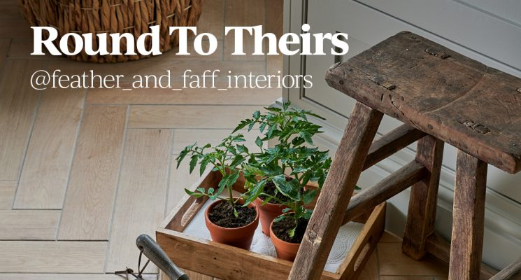 Round To Theirs: @feather_and_faff_interiors
