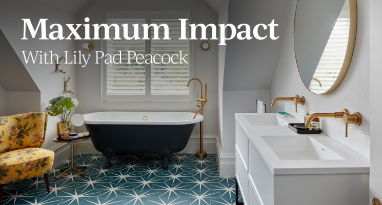 Maximum Impact – With Lily Pad Peacock