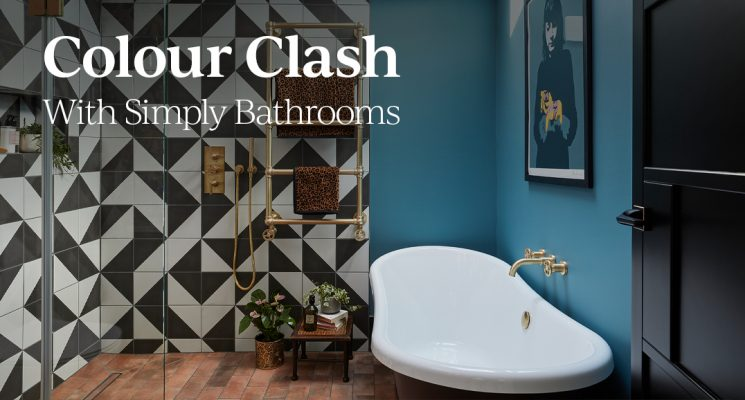 Colour Clash With Simply Bathrooms